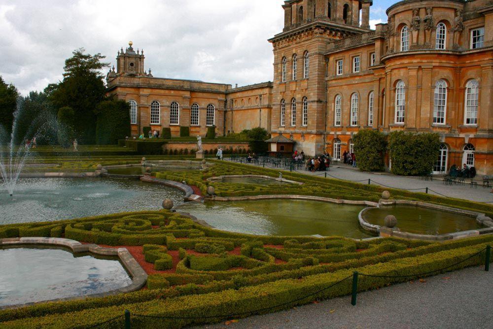 jardines de Blenheim Palace Planta Paisajistas