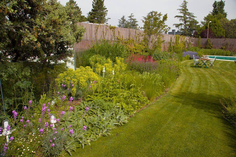 planta paisajistas jardin diseño y obra en madrid